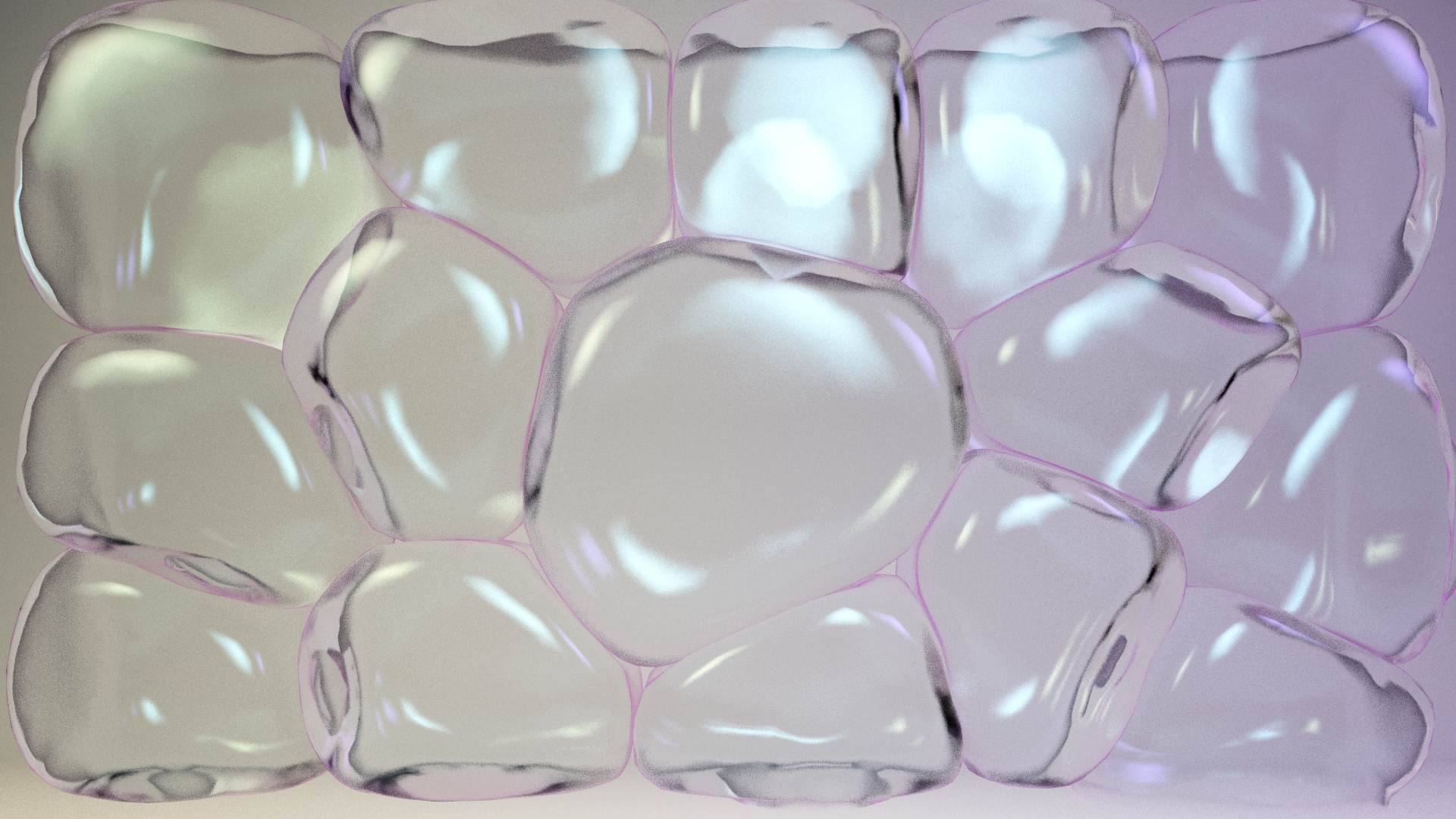 Softbody Spheres bashing - VRAY